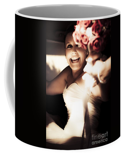 Caucasian Coffee Mug featuring the photograph Unbridled Joy by Jorgo Photography - Wall Art Gallery
