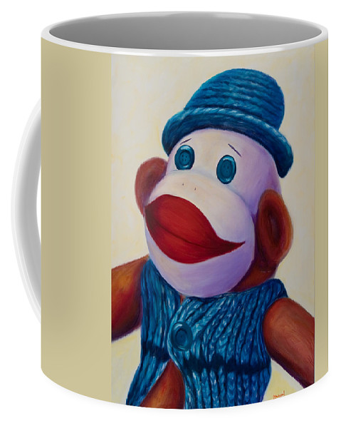Children Coffee Mug featuring the painting Uncle Frank by Shannon Grissom