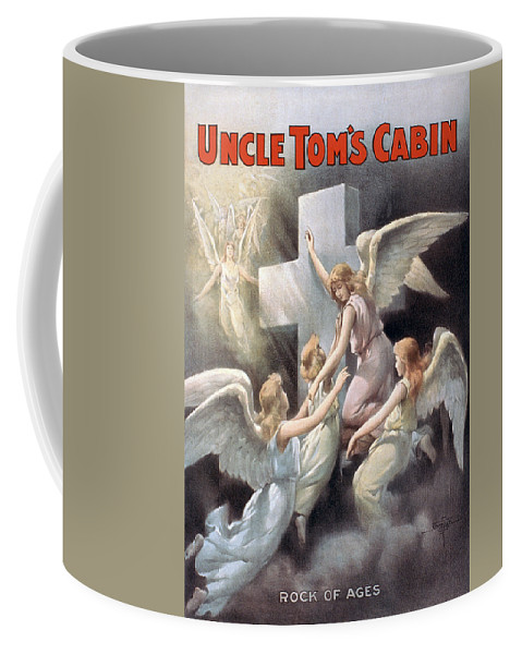 1899 Coffee Mug featuring the photograph Uncle Toms Cabin, C1899 by Granger