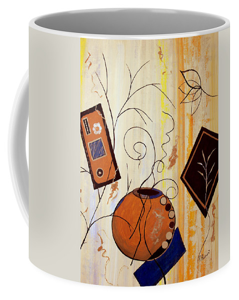 ruth Palmer Coffee Mug featuring the painting Unconstrained by Ruth Palmer