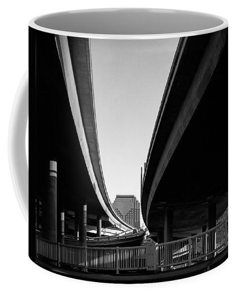 Under Interstate 5 Coffee Mug featuring the photograph Under Interstate 5 Sacramento by Lee Santa