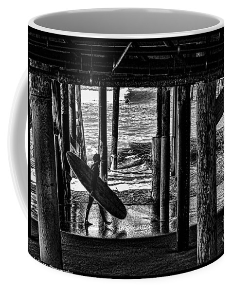 Warf Coffee Mug featuring the photograph Under The Boardwalk by Tommy Anderson