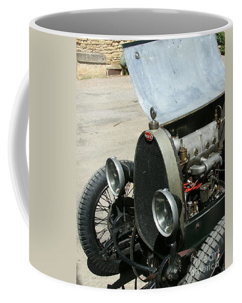 Hood Coffee Mug featuring the photograph Under The Hood by Christiane Schulze Art And Photography
