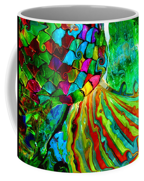 Glass Coffee Mug featuring the photograph Under The Sea by Donna Blackhall