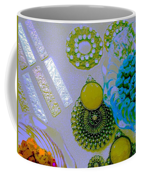 Coffee Mug featuring the photograph Under The Sea by Jacqueline Manos