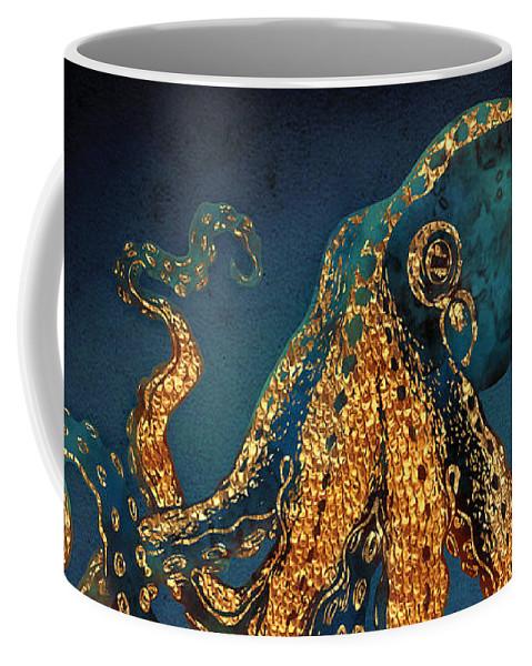 Water Coffee Mug featuring the digital art Underwater Dream IV by Spacefrog Designs