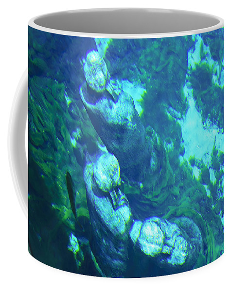 Statue Coffee Mug featuring the photograph Underwater Statues by Kenneth Albin