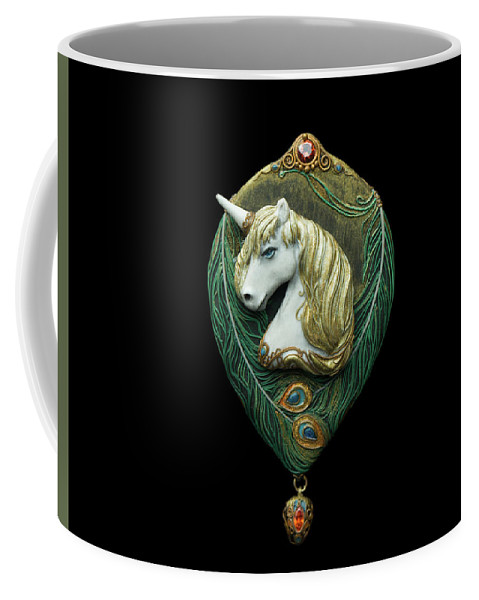 Unicorn Coffee Mug featuring the photograph Unicorn by Olga Akulinina