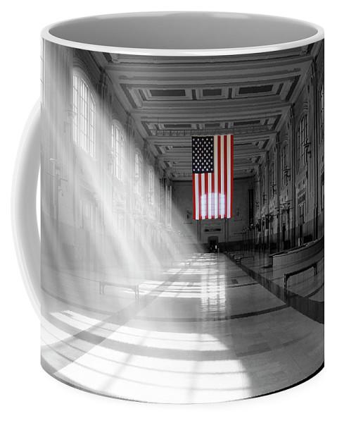 Union Station Coffee Mug featuring the photograph Union Station 2 - Kansas City by Mike McGlothlen