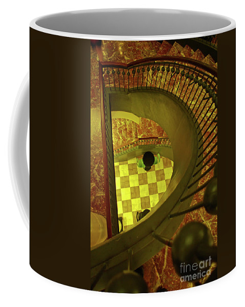 Washington Dc Coffee Mug featuring the photograph Union Station Stairs by Rich Walter
