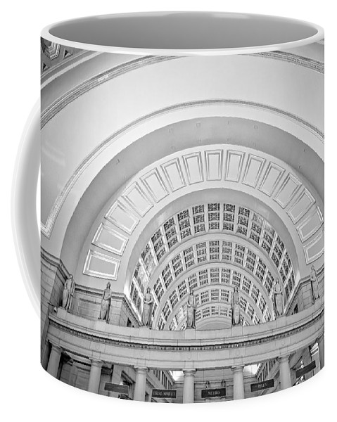 Union Station Coffee Mug featuring the photograph Union Station Washington Dc by Susan Candelario