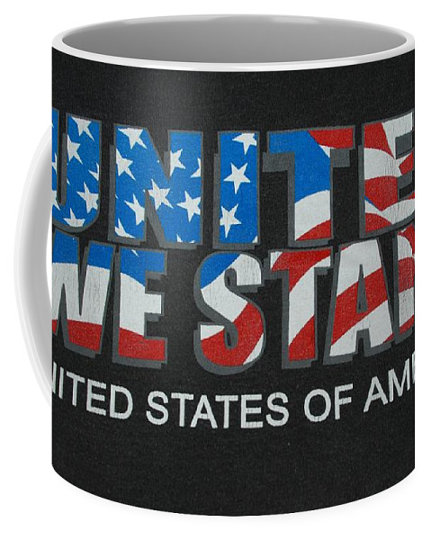 Americana Coffee Mug featuring the photograph United We Stand by Rob Hans