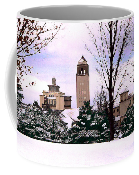 Landscape Coffee Mug featuring the photograph Unity Village by Steve Karol