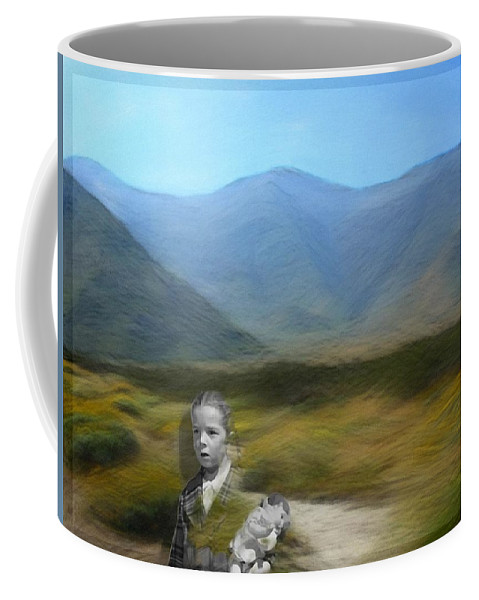 Desert Coffee Mug featuring the digital art Unresolved by Snake Jagger