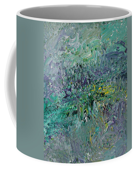 Fusionart Coffee Mug featuring the painting Blind Giverny by Ralph White