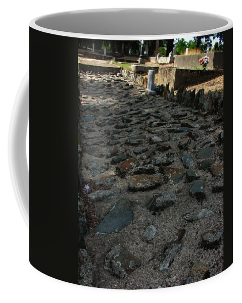 Unsettling Ground Coffee Mug featuring the photograph Unsettling Ground by Peter Piatt
