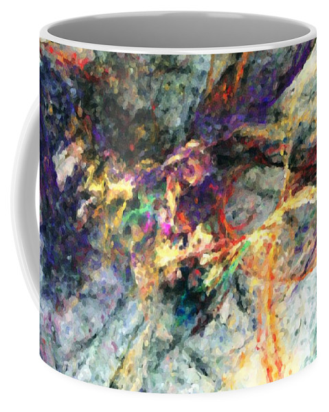 Digital Painting Coffee Mug featuring the digital art Untitled 01-14-10-a by David Lane