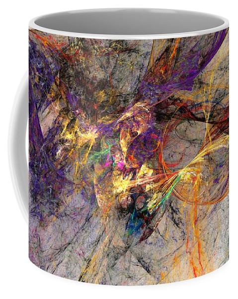 Digital Painting Coffee Mug featuring the digital art Untitled 01-14-10 by David Lane
