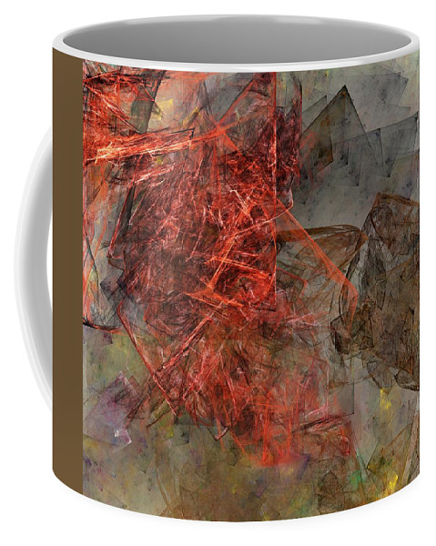 Digital Painting Coffee Mug featuring the digital art Untitled 01-15-10-a by David Lane