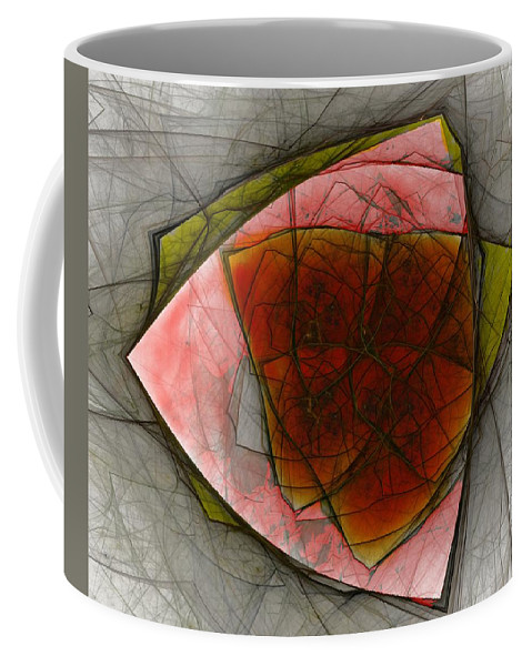 Digital Painting Coffee Mug featuring the digital art Untitled 01-23-10-a by David Lane