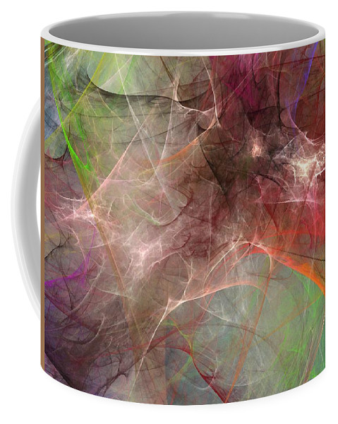 Digital Painting Coffee Mug featuring the digital art Untitled 02-04-10 by David Lane