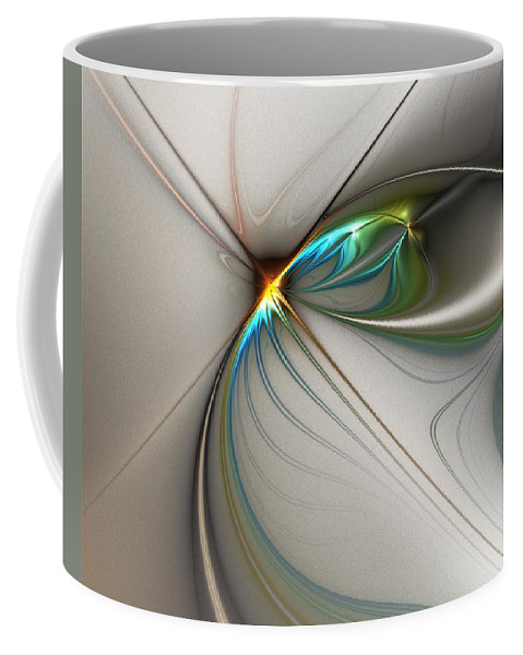 Digital Painting Coffee Mug featuring the digital art Untitled 02-16-10-a by David Lane