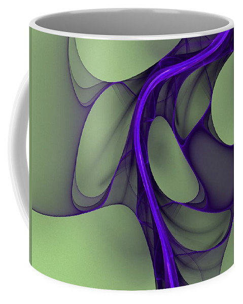 Digital Painting Coffee Mug featuring the digital art Untitled 02-26-10 by David Lane