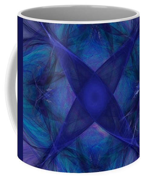 Fantasy Coffee Mug featuring the digital art Untitled 12-01-09 by David Lane