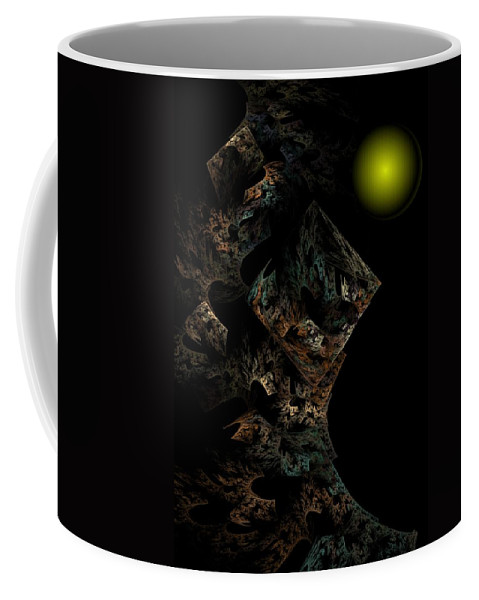 Fantasy Coffee Mug featuring the digital art Untitled 12-18-09 by David Lane