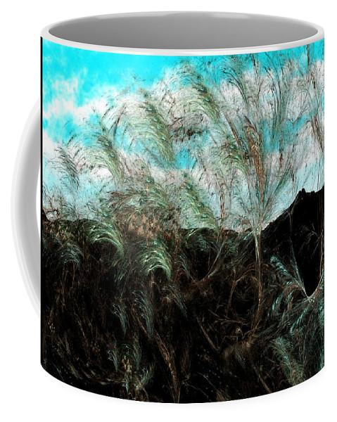 Digital Photograph Coffee Mug featuring the digital art Untitled 9-26-09 by David Lane