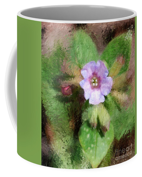Digital Photo Coffee Mug featuring the photograph Untitled Floral -1 by David Lane