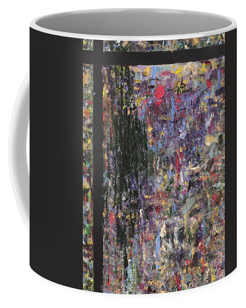 Abstract Painting Coffee Mug featuring the painting Untitled by Jaime Becker