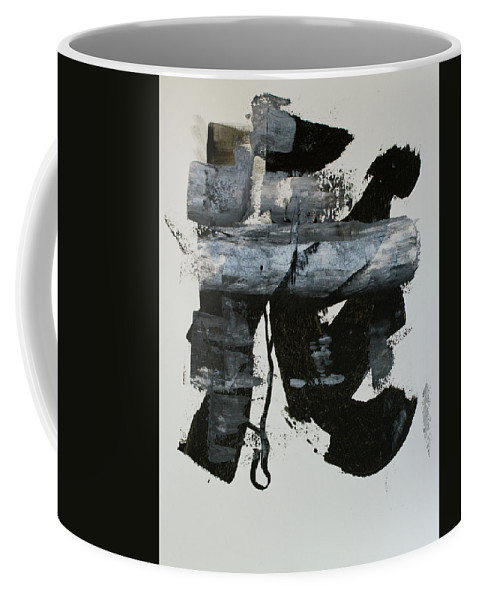 Abstract Coffee Mug featuring the painting Untitled by Kelly Laura