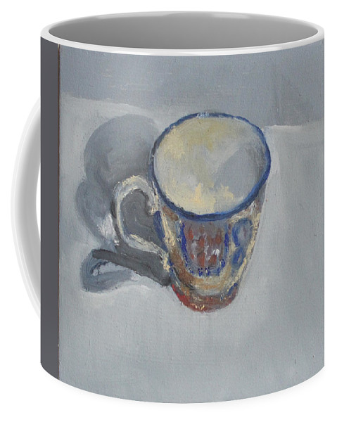 Color And Light Study Coffee Mug featuring the painting Untitled by Nandu Vadakkath
