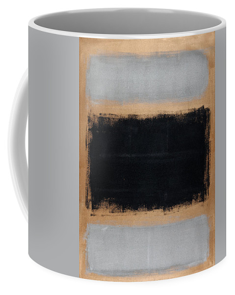 Blue Coffee Mug featuring the painting Untitled No. 15 by Julie Niemela