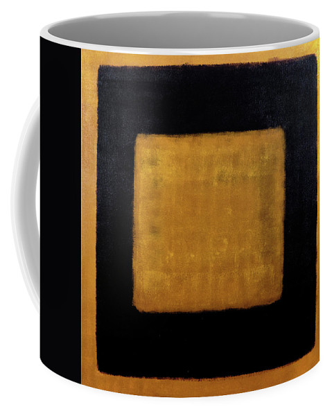 Brown Coffee Mug featuring the painting Untitled No. 17 by Julie Niemela