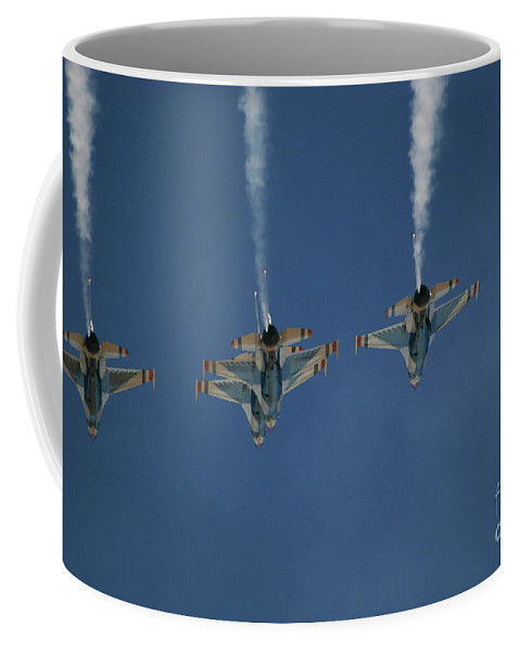 Aerial Coffee Mug featuring the photograph Up And Over by Chandra Nyleen