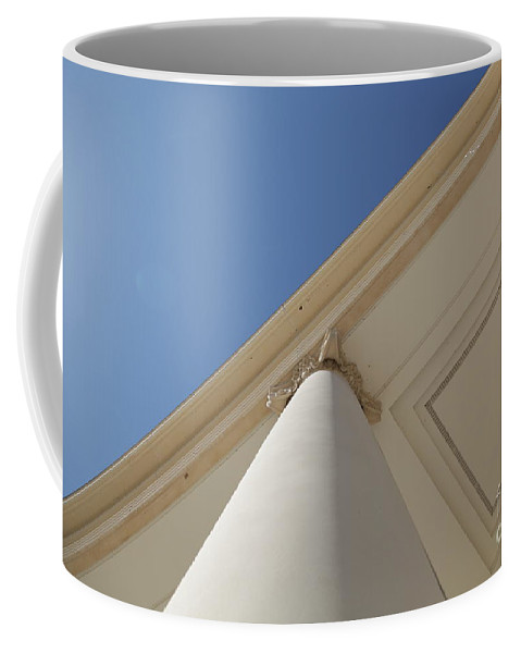 Architecture Coffee Mug featuring the photograph Up by Dean Triolo