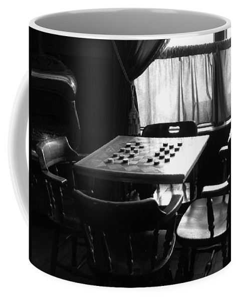 Ann Keisling Coffee Mug featuring the photograph Up For A Game? by Ann Keisling