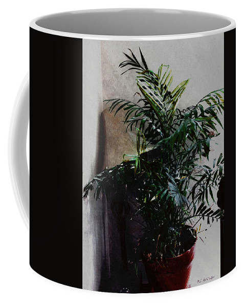 Antique Coffee Mug featuring the digital art Up In The Old Hotel by RC DeWinter