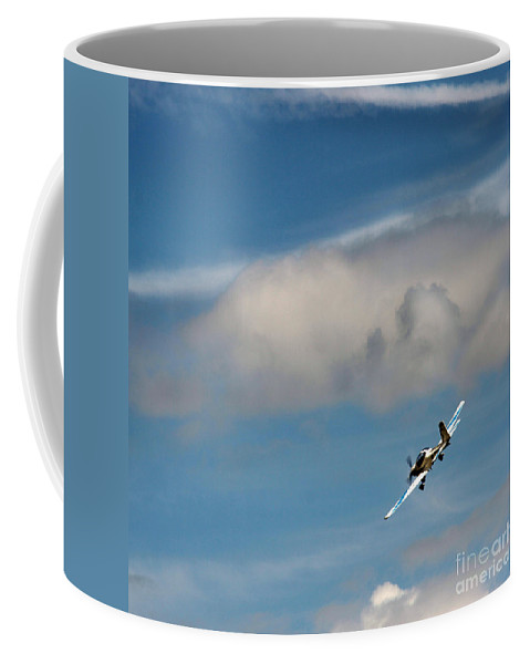 Airshow Coffee Mug featuring the photograph Up To The Sky by Angel Tarantella
