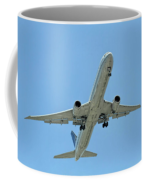 Recent Coffee Mug featuring the photograph Up Up And Away by Geraldine Scull