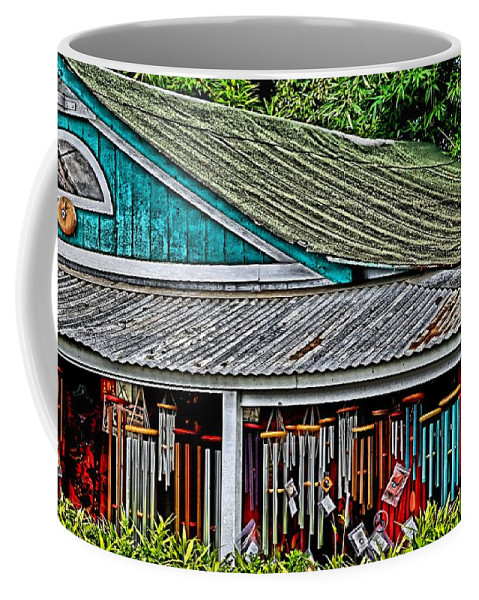 Maui Coffee Mug featuring the photograph Upcountry Chimes by DJ Florek