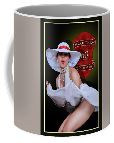 Pin Up Coffee Mug featuring the photograph Upsiiiiiiiiiiiiiiiiiiiiiii by Ralf Kretschmer