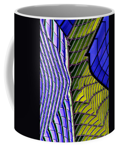 Urban Coffee Mug featuring the photograph Urban Abstract 2 by Tim Allen