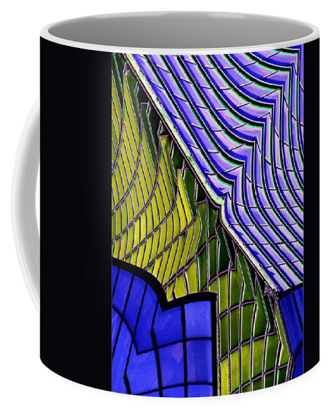 Abstract Coffee Mug featuring the photograph Urban Abstract by Tim Allen