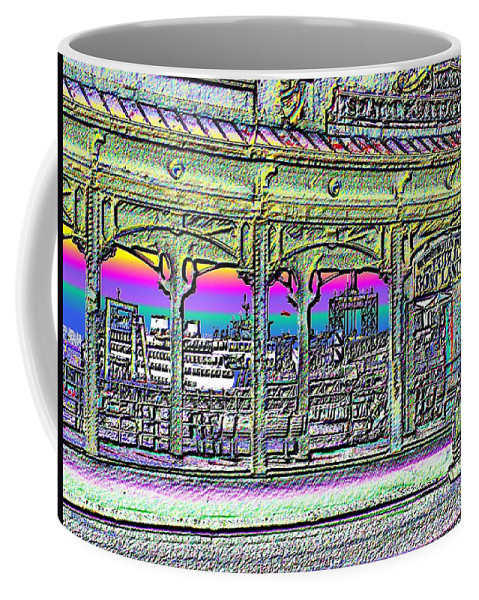 Seattle Coffee Mug featuring the photograph Urban Boat Landing by Tim Allen