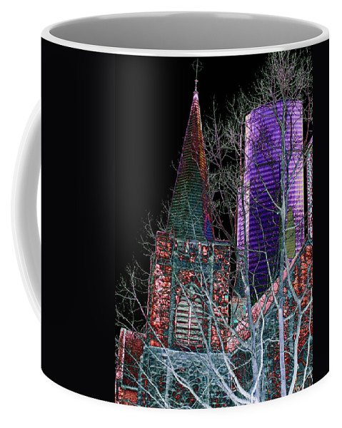 Seattle Coffee Mug featuring the photograph Urban Ministry by Tim Allen