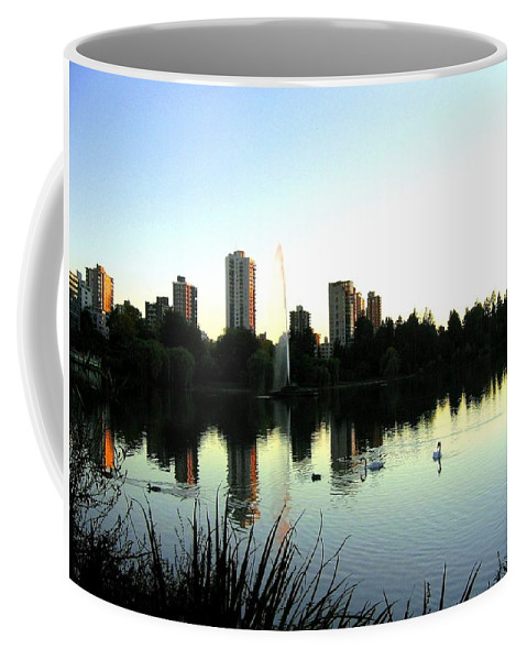 Vancouver Coffee Mug featuring the photograph Urban Paradise by Will Borden