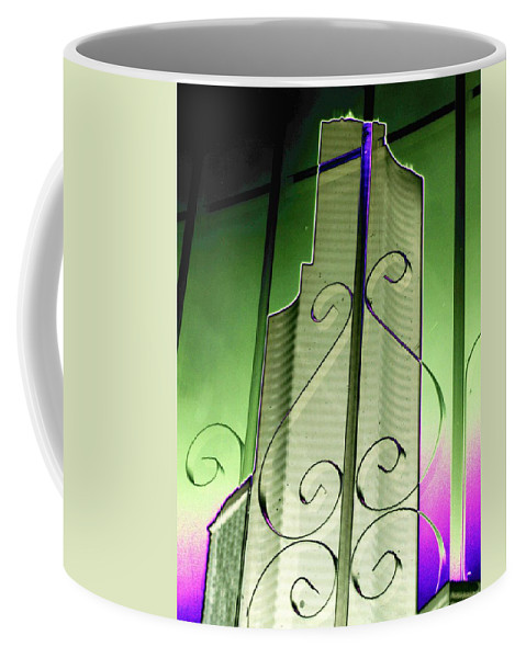 Seattle Coffee Mug featuring the photograph Urban Reflection 2 by Tim Allen
